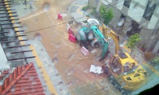 Πλημμύρες και ισχυροί άνεμοι «χτυπούν» τη Χαλκιδική