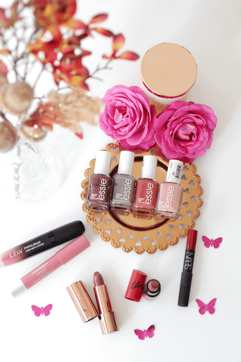 Autumn Lipsticks & Nail Polishes