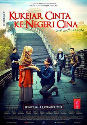 Download Film Kukejar Cinta ke Negeri Cina (2014) DVDRip 720p Full Movie