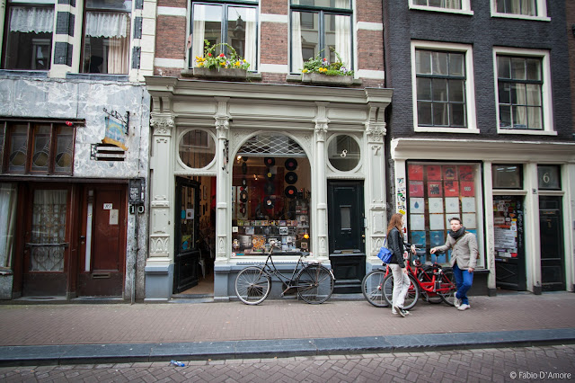 Vetrina ad Amsterdam