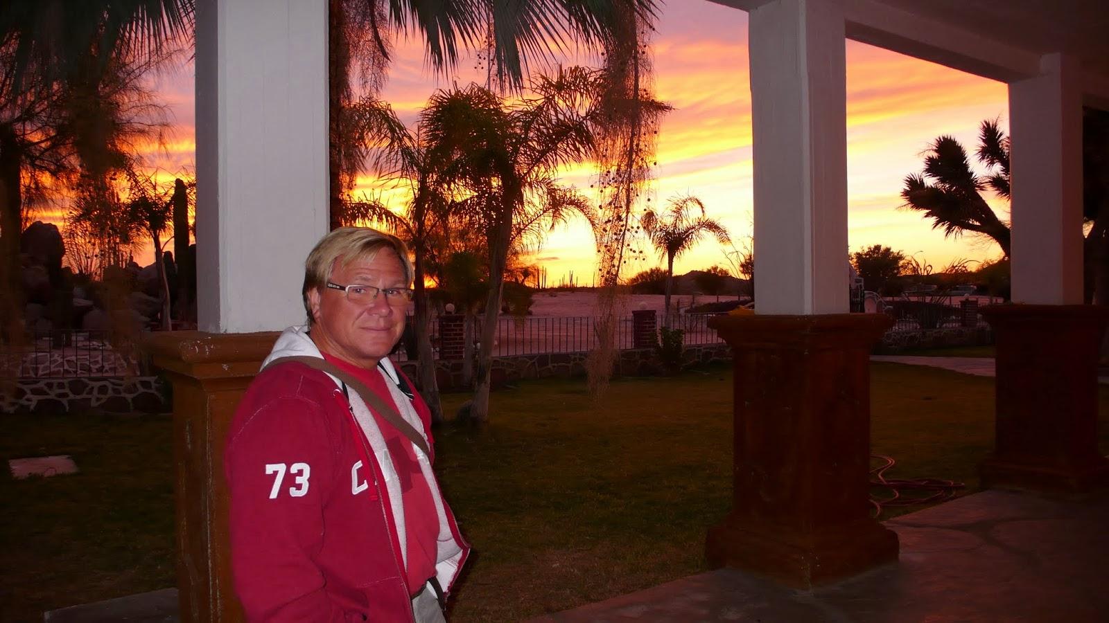 Anders in Cataviña, Baja California, Mexico
