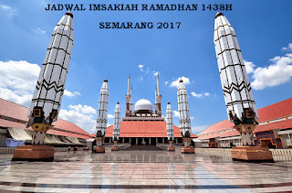 Jadwal Imsakiah Ramadhan 1438 H/2017 M Wilayah Semarang
