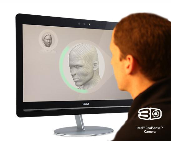 работа камеры 3D Intel RealSense