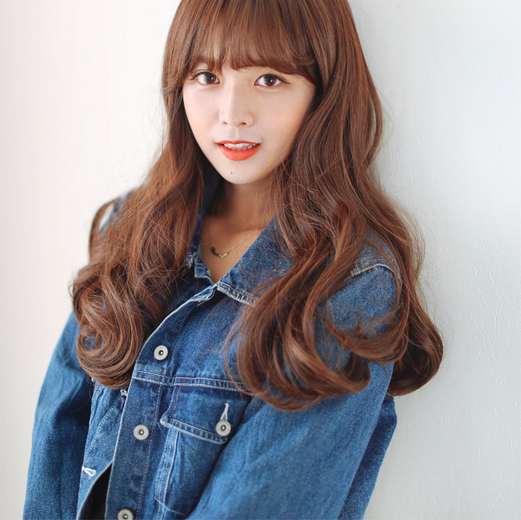 See Through Bangs They Have Been Very Popular In Korea For A Few Years And Or Optimal Indecisive People These Are Thin So That You Can