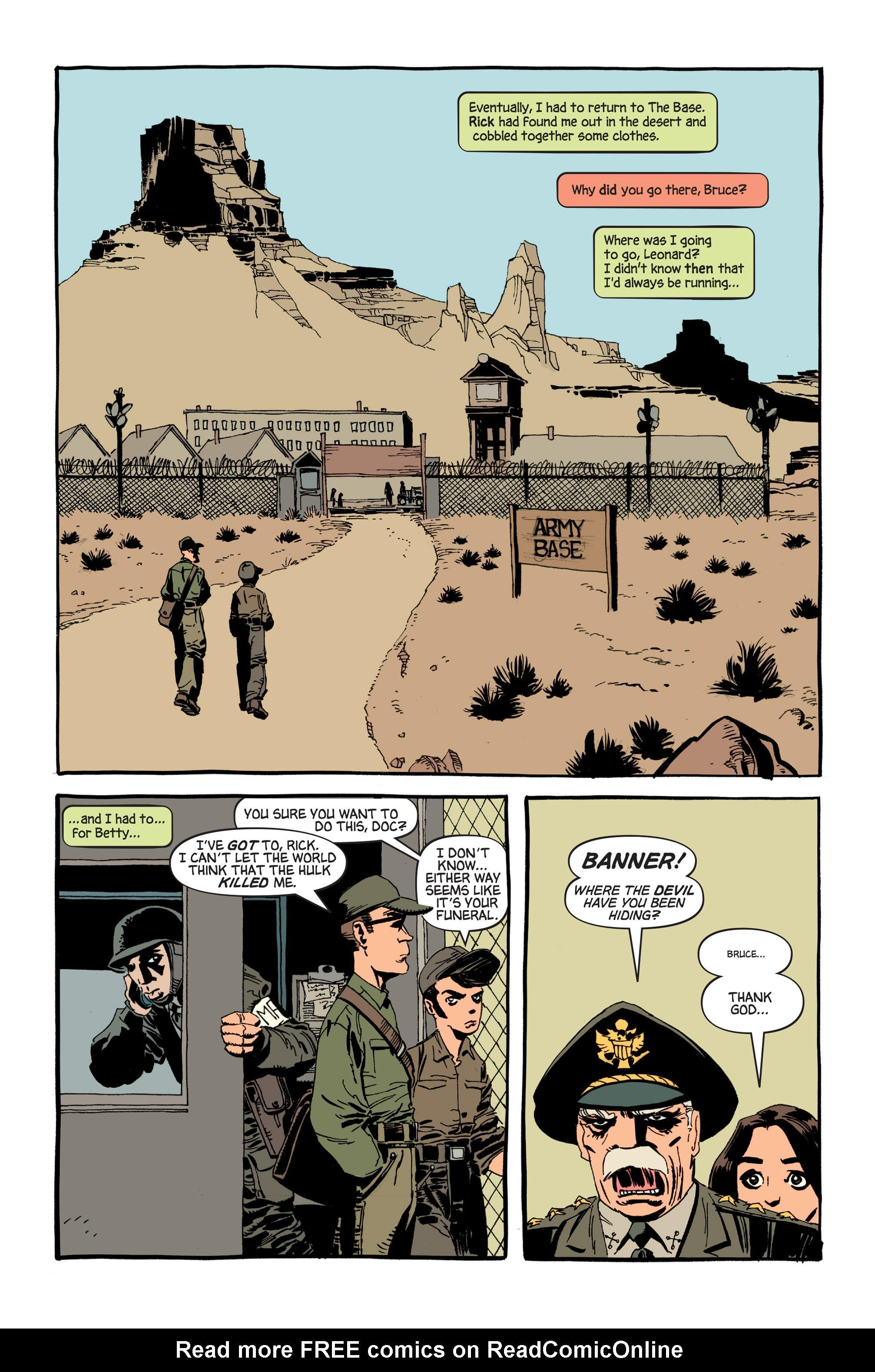 Read online Hulk: Gray comic -  Issue #6 - 18