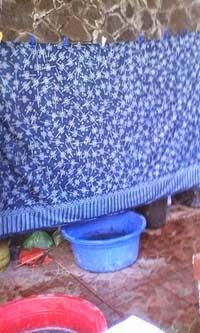 belajar warna biru batik warna alam