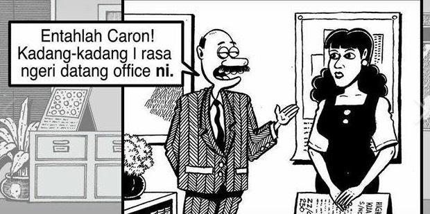 Komik Mat Despatch, Karya Lengkuas Rupanya Berdasarkan Kisah Sebenar