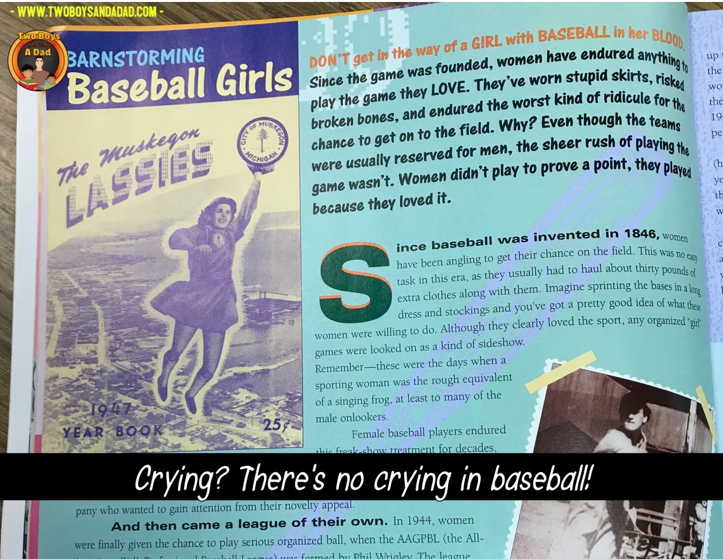 Girls baseball