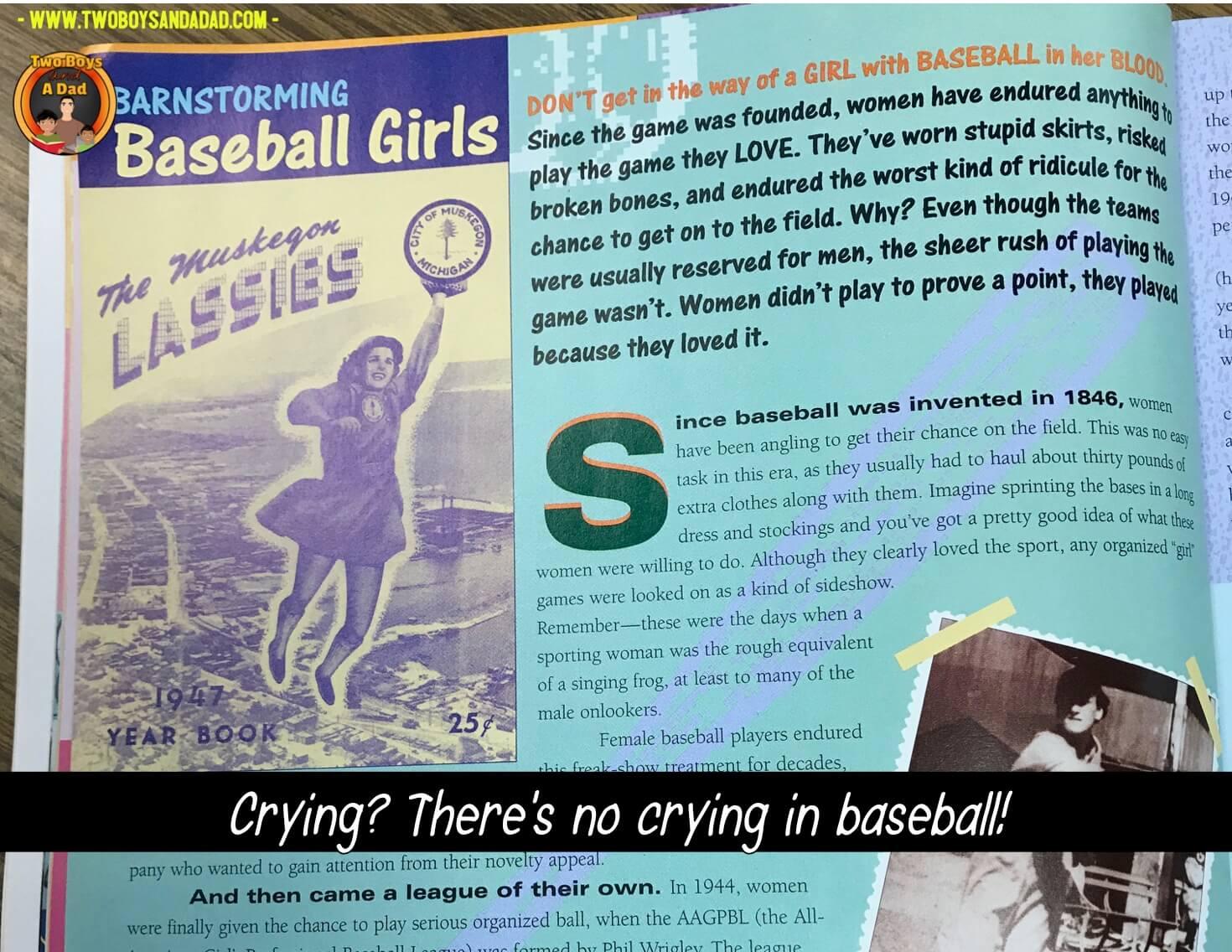 Girls baseball