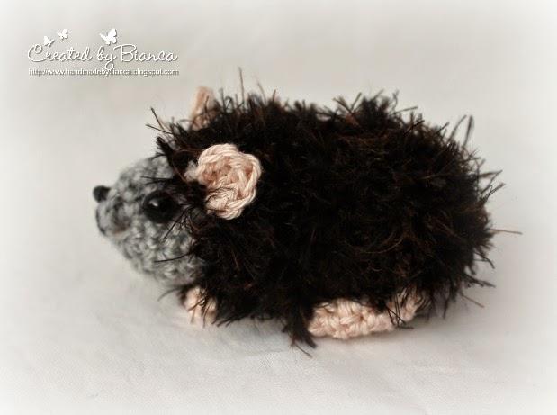 Handmade By Bianca Mini Rosetten Meerschweinchen Gehäkelt