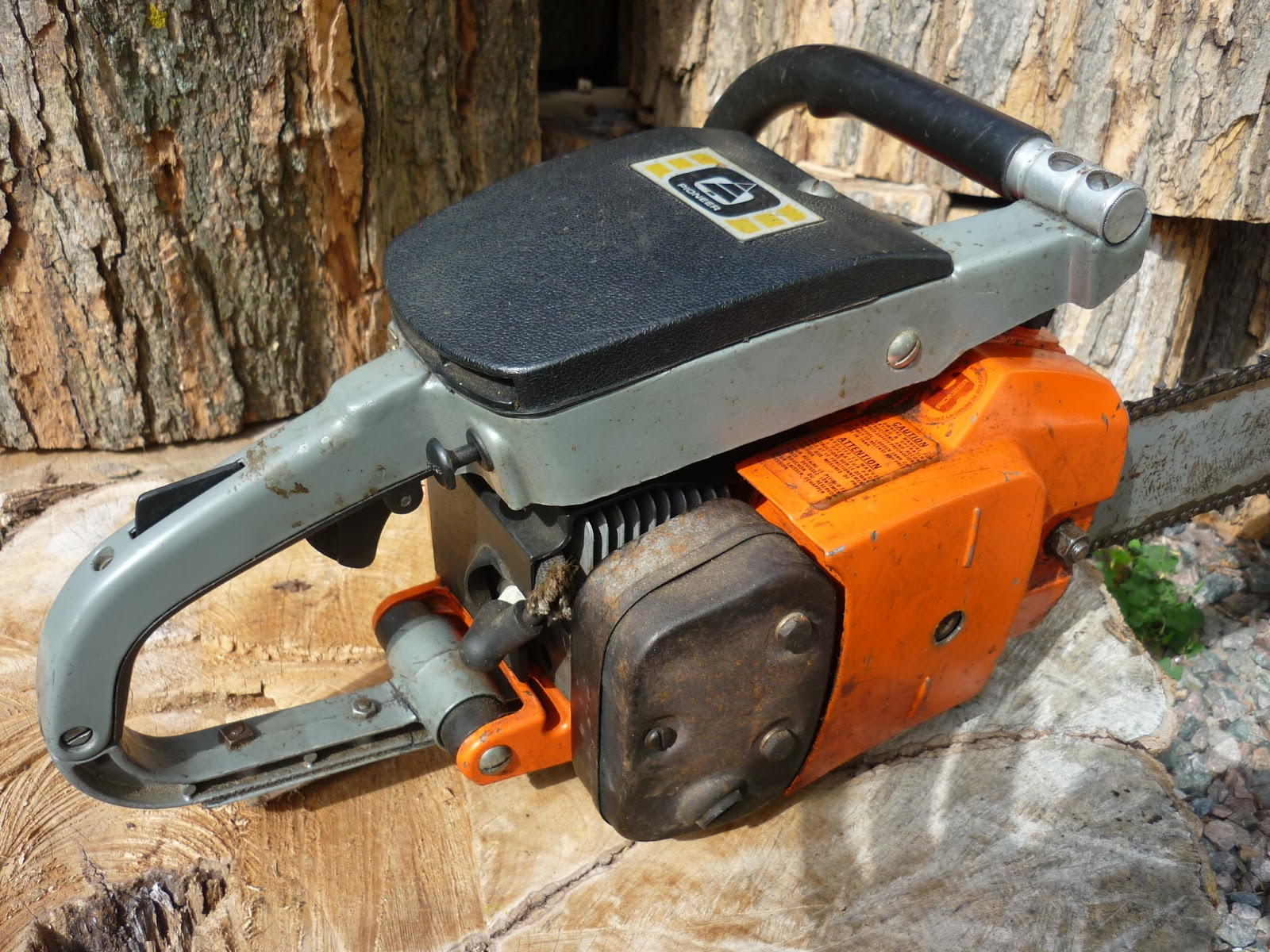 Vintage Chainsaw Collection Pioneer Farmsaw