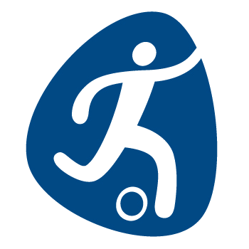Pictogram Rio 2016 Football 350x350 px