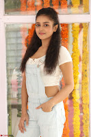 Mishti Chakraborty in lovely Jumpsuit and crop top at Wings Movie Makers Production No 1 movie launch ~  Exclusive 67.JPG