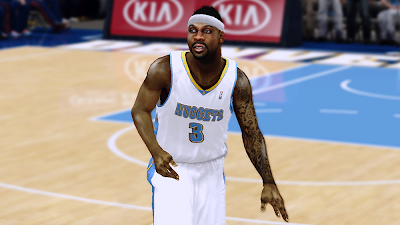 NBA 2K14 Ty Lawson Cyberface Mod