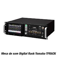 Mesa de som Digital Rack Yamaha TFRACK