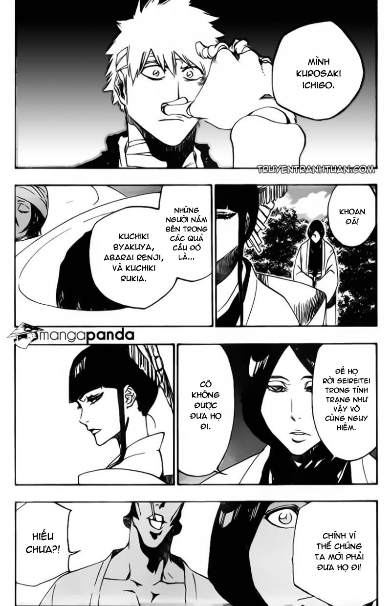 Bleach chapter 517 trang 15