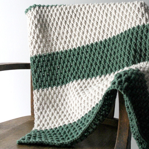 The Alpine Blanket - Free Pattern