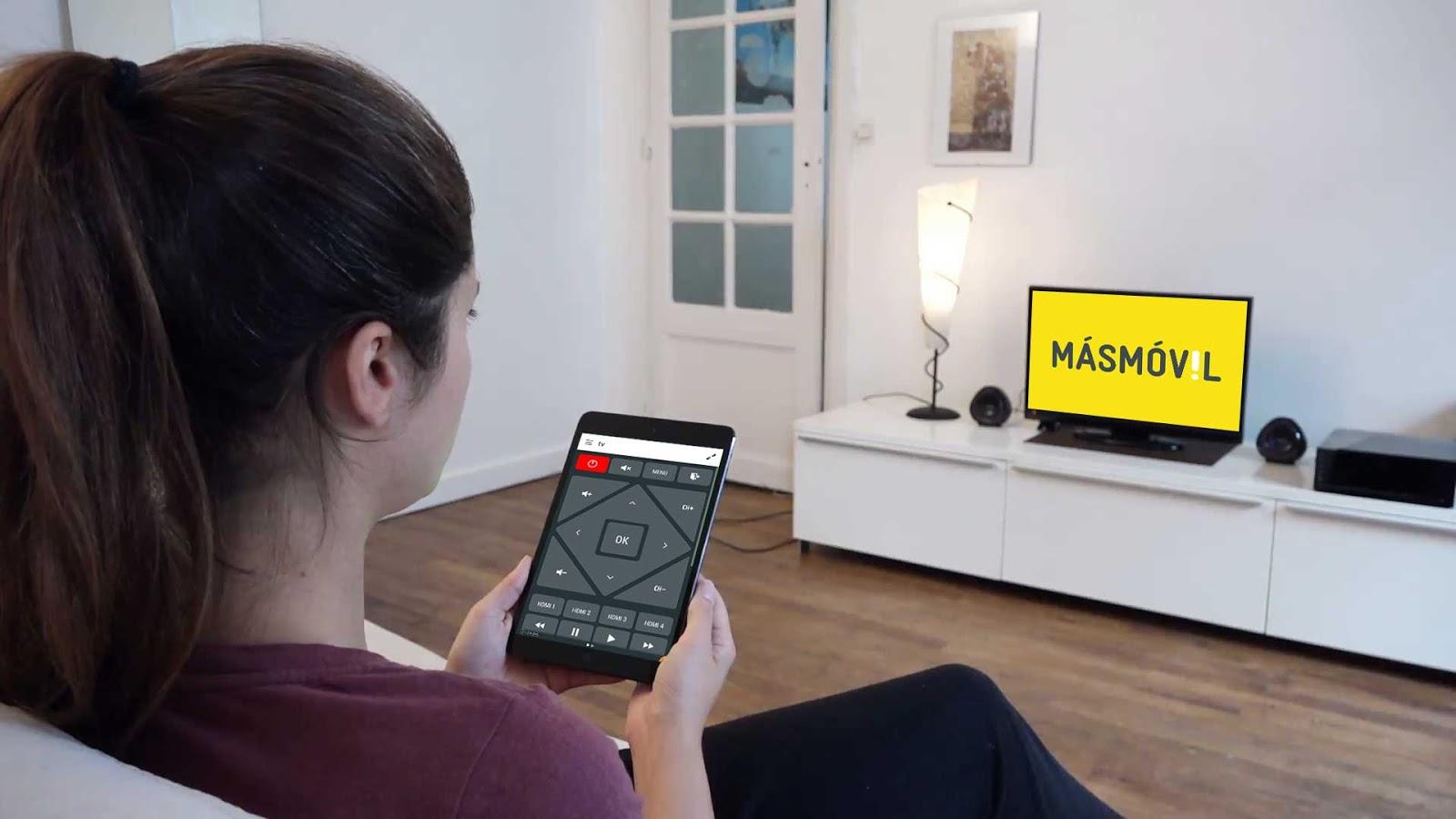 MásMóvil lanza su servicio de televisión de bajo coste