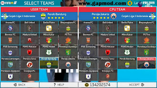 Download FTS Special Mod FIFA 19 by Bintang Ars Apk Data Obb Android