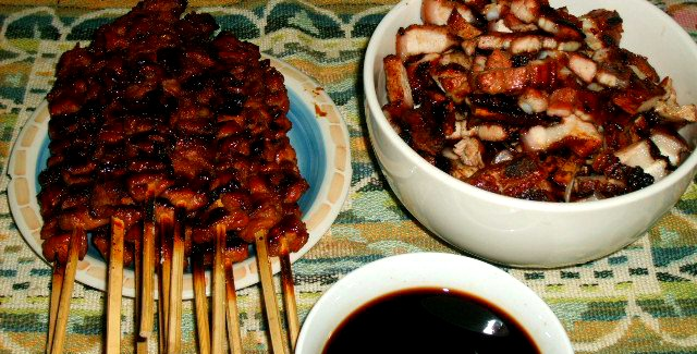 Pork Barbecue and Grilled tenderloin or lomo