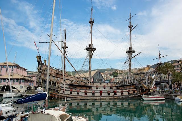 statek z filmu Romana Polańskiego Piraci