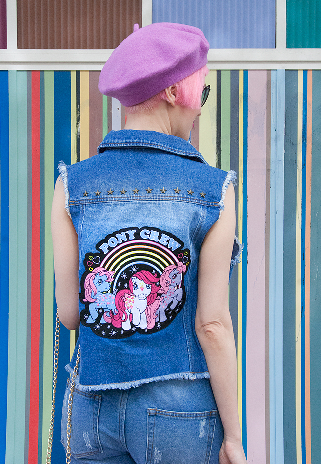 my little pony look, denim outfit, teens