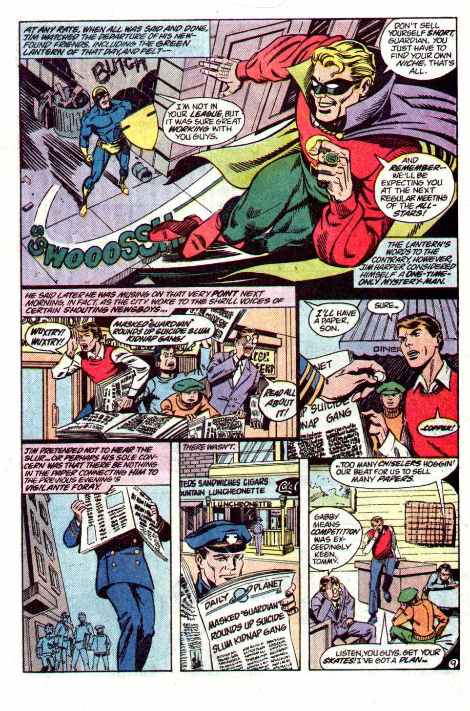 Read online Secret Origins (1986) comic -  Issue #19 - 30