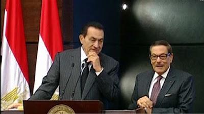مبارك وصفوت الشريف