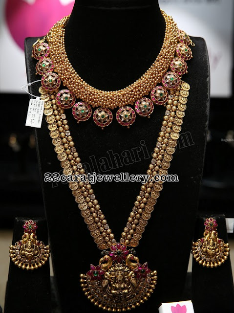 Lakshmi Earrings Bottu Mala