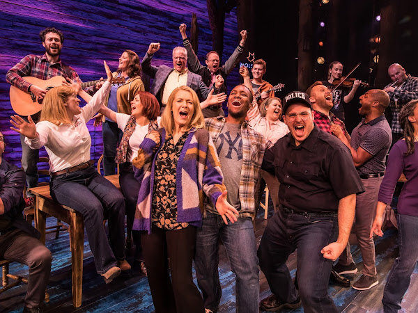 In Conversation With... The Real Nick and Diane Marson with Robert Hands and Helen Hobson    Come From Away   Interview