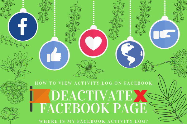 How To Deactivate Facebook Page<br/>
