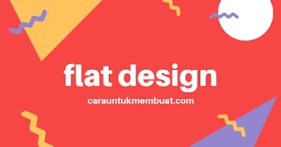 Contoh Gambar Flat Design 2