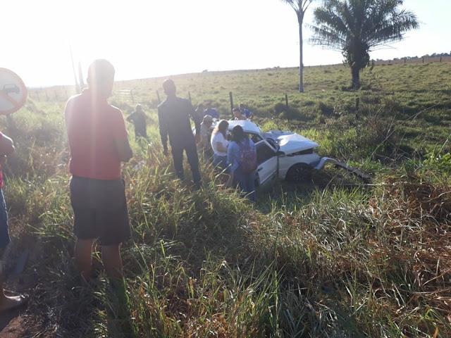 Colisão entre cinco veículos deixa um morto na RO-010