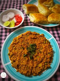 Parsi style kheema (mince)