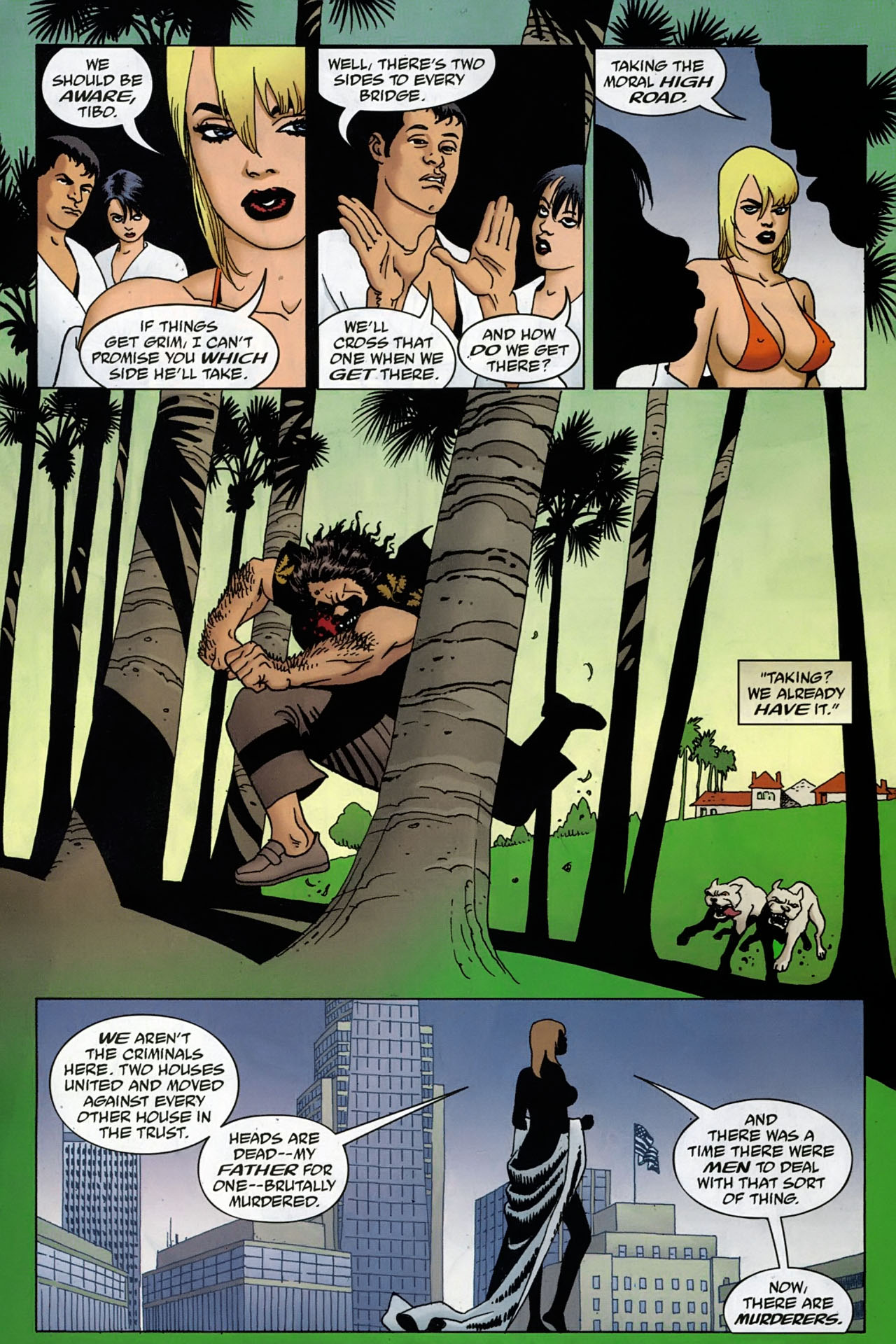 Read online 100 Bullets comic -  Issue #97 - 14