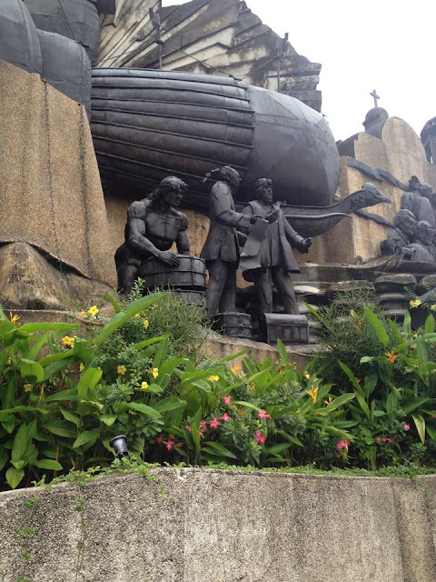 Galleon trade at the Heritage of Cebu Monument
