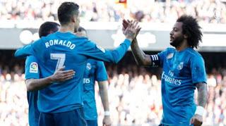 Valencia vs Real Madrid 1-4