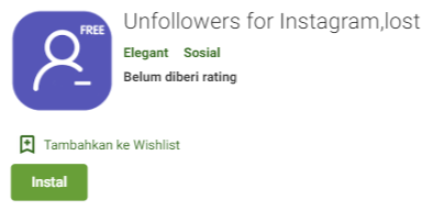Unfollowers for Instagram,lost