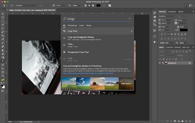 Photoshop CC 2017 có những chức năng, tiện ích gì mới ?