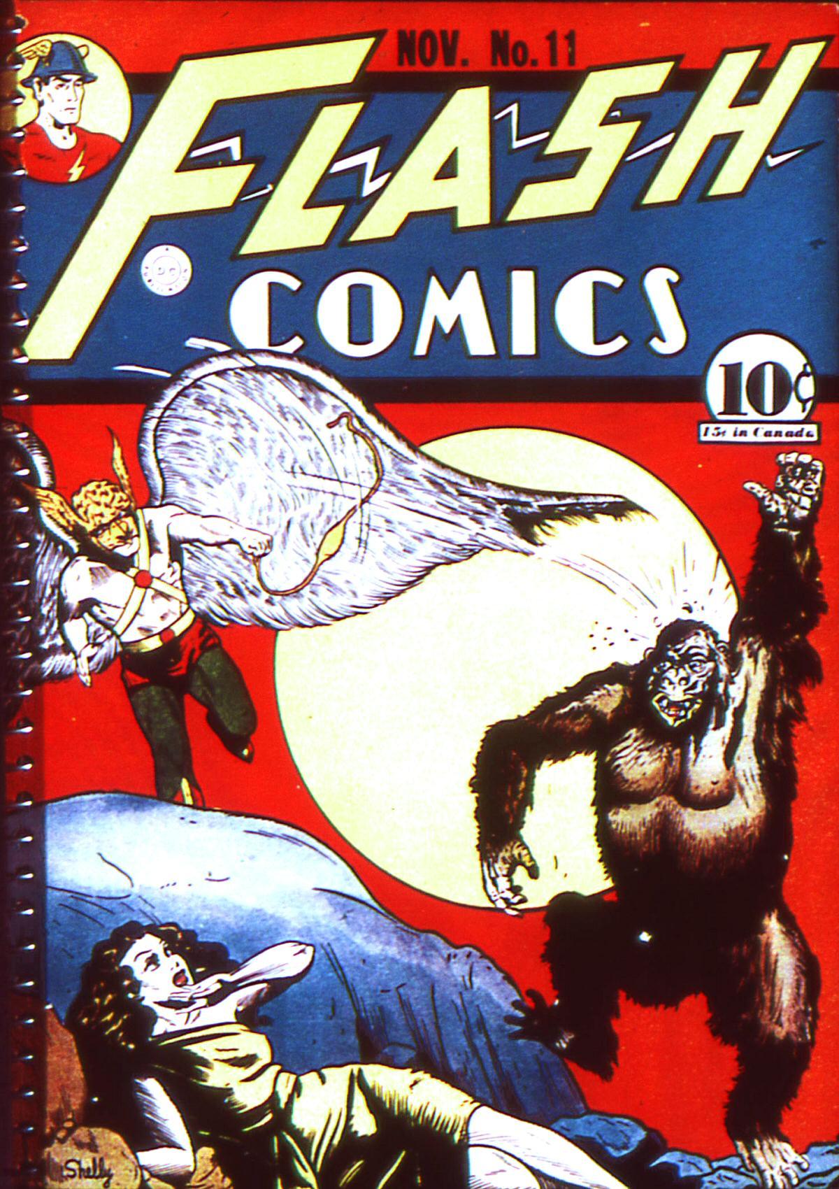 Flash Comics 11 Page 1