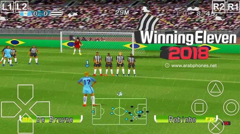 تحميل لعبة Winning Eleven 2018 للاندرويد