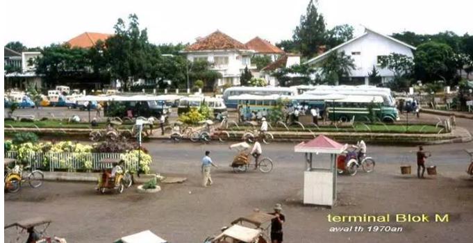 12 Foto Jadul Suasana Kota Jakarta Tempo Dulu Art And Culture