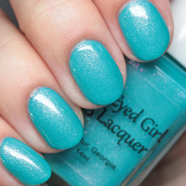 Blue-Eyed Girl Lacquer Welcome to the Coast