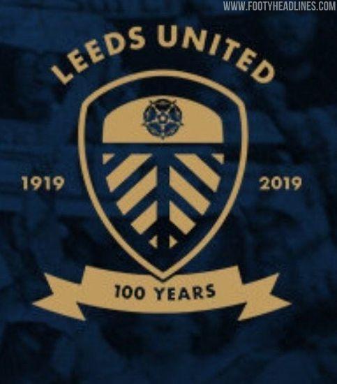 Leeds United Centenary Crest Leaked Footy Headlines