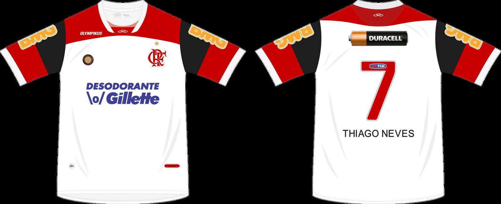 03d2eb33e3 A camisa de FUTEBOL oficial independente do fabricante é um produto cheio  de detalhes como