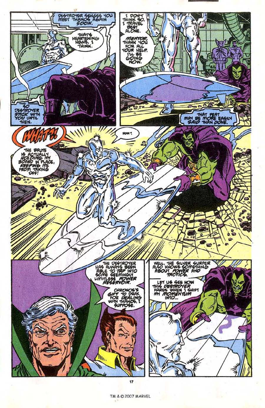 Read online Silver Surfer (1987) comic -  Issue #37 - 19