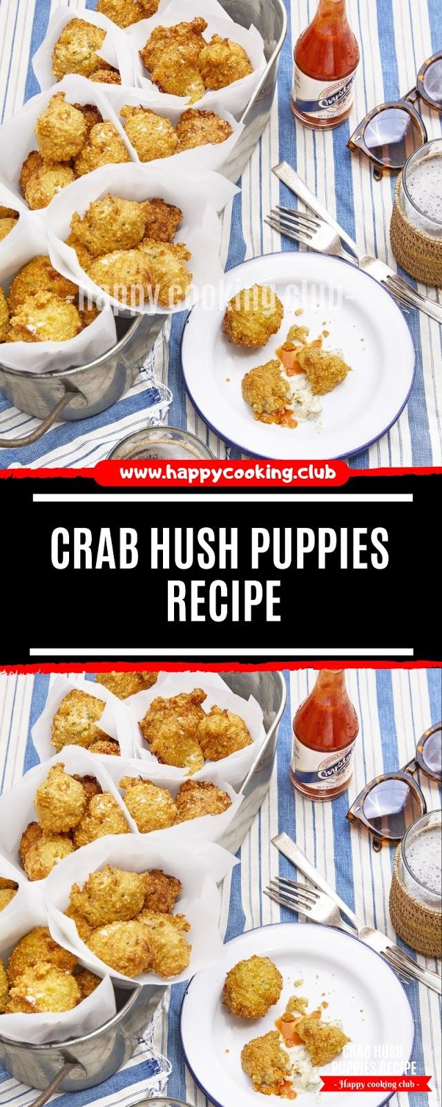 Crab Hush Puppies Recipe