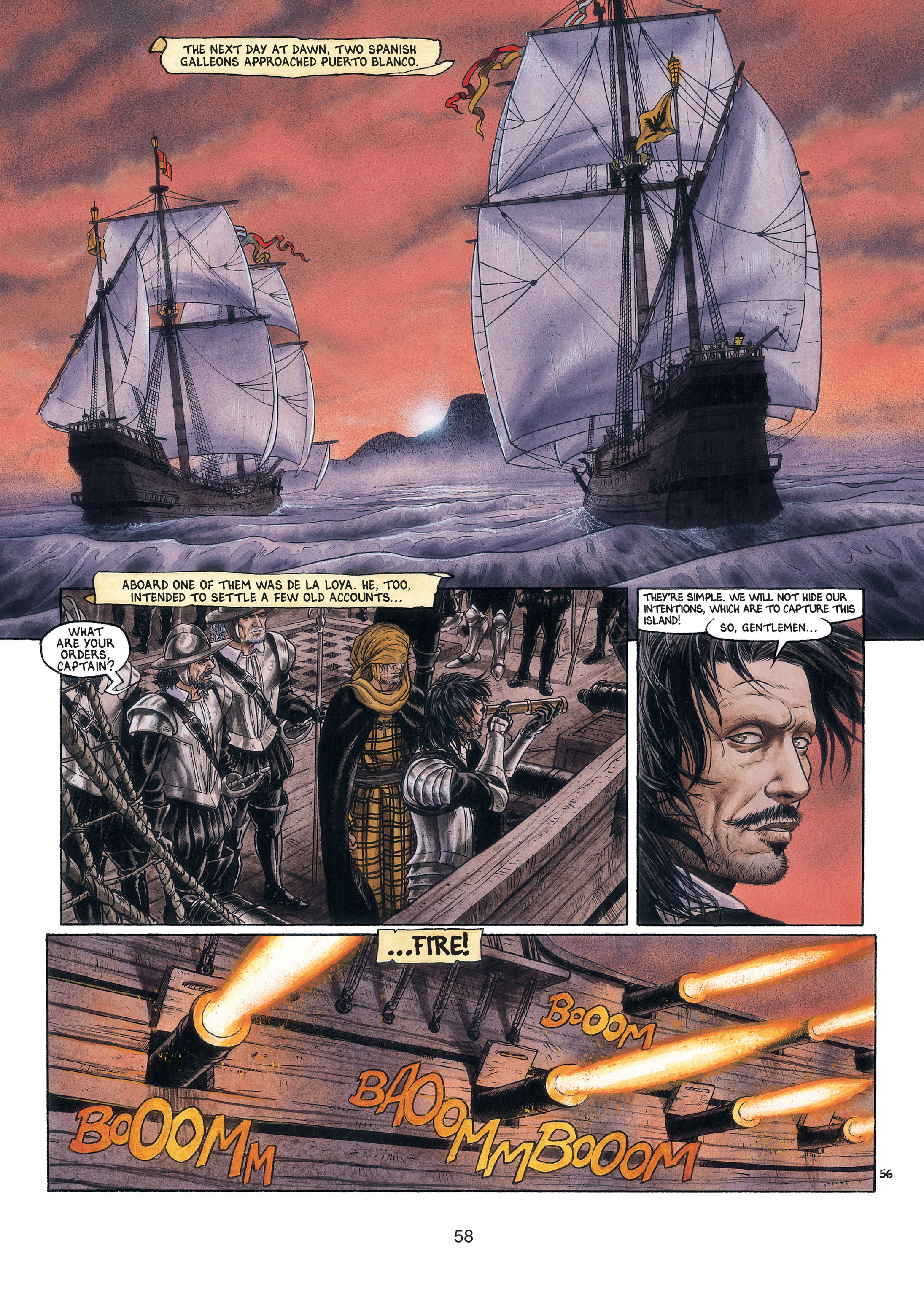 Read online Barracuda comic -  Issue #3 - 59