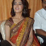 Samantha Cute Actress in Saree stills