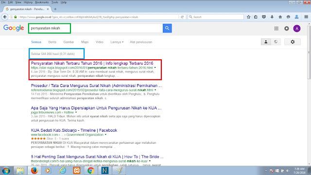Cara menjadikan website no 1 di google